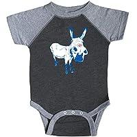 inktastic Cute Democratic Donkey Proud Blue I Voted Infant Creeper