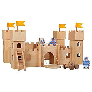 Small Foot 10026 Untreated Medieval Castle