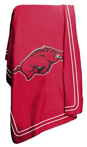 University of Arkansas Razorbacks Fleece Throw Blanket
