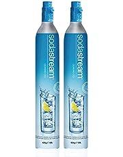 SodaStream Cilinder 60l Duo-Pack voor bruiswatertoestel.