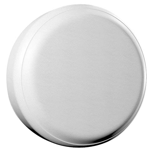 "AmFor Spare Tire Cover, Universal Fit for Jeep, Trailer, RV, SUV, Truck and Many Vehicle, Wheel Diameter 25"" - 27"", Weatherproof Tire Protectors (White)"