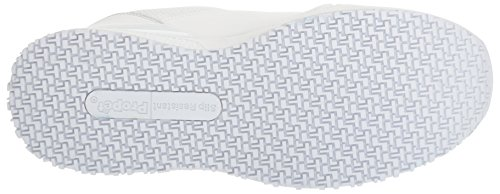 Propét Propet Mens Simpson Work Shoe White