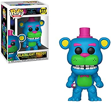 "Five Nights At Freddy/'s Blacklight 2/"" Figure 4PK by Funko"