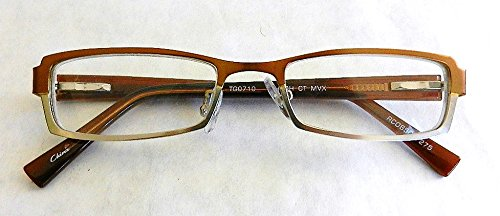 Foster Grant +2.75 Copper and Silver Metal Frame Reading Glasses (307)
