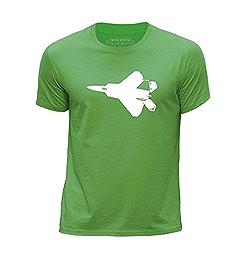 STUFF4 Boy/'s Round Neck T-Shirt//Fighter Jet Plane// F-22 Raptor//CS