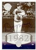 Autograph Warehouse 51340 Don Money Autographed Baseball Card Milwaukee Brewers 2004 Upper Deck Legends No .224 Ball Point Pen