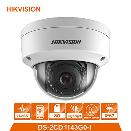 4 MP IR IP Dome Camera DS-2CD1143G0-I