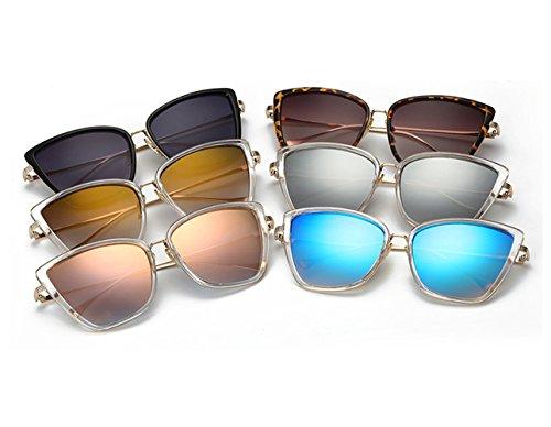 Joopin Fashion Cat Eye Sunglasses Women Retro Transparent Frame Brand Sun Glasses(Black)