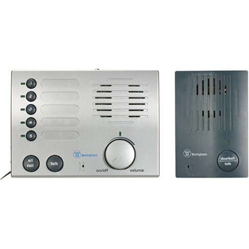 Westinghouse 4 Channel Intercom (Westinghouse WHDBI-5C Whole-House Wireless Doorbell and)