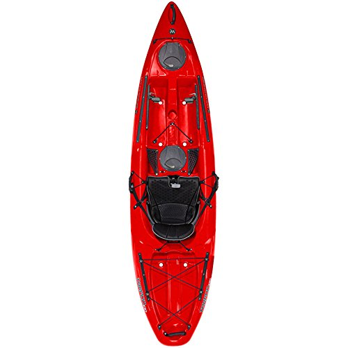 WILDERNESS SYSTEMS Tarpon 100 Kayak, Factory SecondA� Red One Size