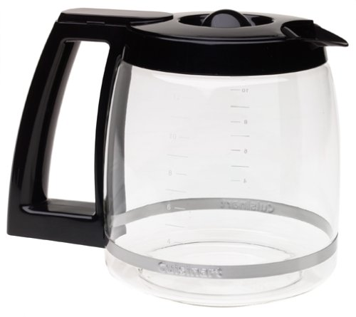 Cuisinart DCC-1200PRC 12-Cup Replacement Glass Carafe, Black by Cuisinart