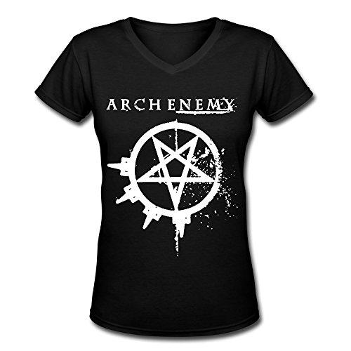 arch-enemy-womens-v-neck-t-shirt