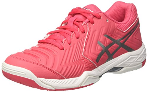 Silver Tennisschuhe Asics Rot Game Rouge White Damen Red 6 Gel xIZ7S8nqI