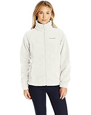 Women's Petite Benton Springs Full Zip Fleece Jacket - X-Large - Sea Salt