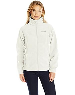 Women's Petite Benton Springs Full Zip Fleece Jacket - Medium - Sea Salt
