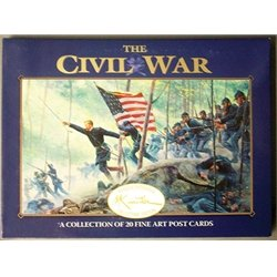 (THE CIVIL WAR MORT KUNSTLER COLLECTION OF 20 FINE ART POST CARDS IN A SUSQUICENTENNIAL COLLECTORS EDITION POSTCARD PACK)