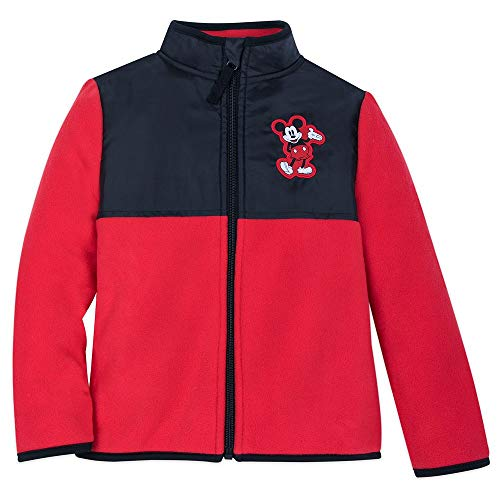 Disney Mickey Mouse Pieced Fleece Jacket for Adults - Size Mens XL Multi