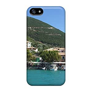 LastMemory Case Cover Protector Specially Made For Iphone 5/5s Greece-lefkada Isl Place Vassiliki