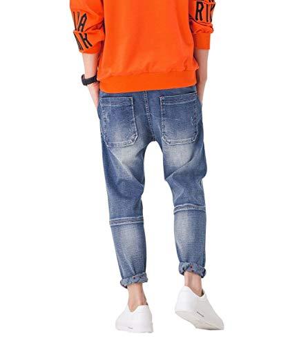 Destruidos Hombres Hombres Moda Vintage Pantalones Ocio De Chicos De Los Pantalones De Pantalones Los Blau3 Grandes Mezclilla Mezclilla De De De Clásico Pantalones De Mezclilla Pantalones RwXIZ1