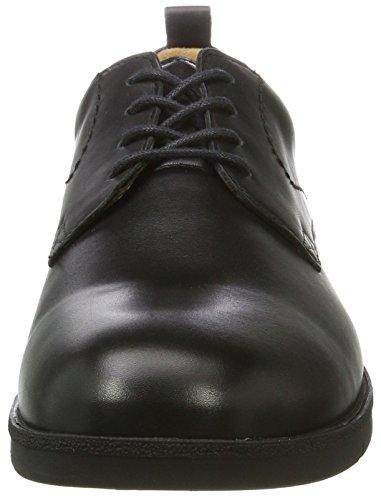 Ganter Gabriel-g, Zapatos de Cordones Derby para Hombre Schwarz (Schwarz)
