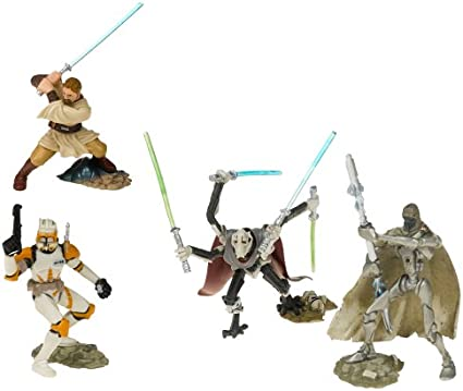Figuras Star Wars Unleashed Battle Packs Battle Of Utapau: Amazon ...