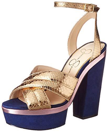Jessica Simpson Women's Lavada, Karat Gold, 6.5 Medium US