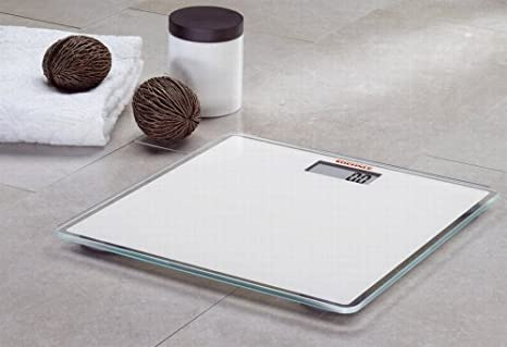 Amazon.com: Soehnle Lifestyle Slim Design Digital Bathroom Scales 63558 - White by Soehnle: Health & Personal Care