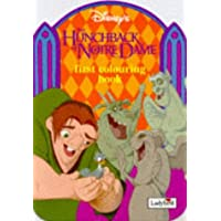 Hunchback of Notre Dame: First Colouring Shaped Book (Disney: Classic Films)