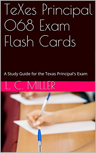 .com: texes principal 068 exam flash cards: a study guide for ...