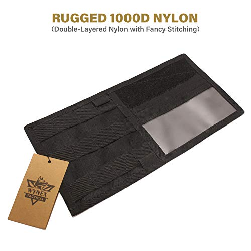 WYNEX Car MOLLE Visor Panel Suit for Most Vehicle /& Truck Visor Tactical Sun Visor Organizer with MOLLE Elastic Straps