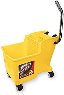product image for Libman Commercial 1095 One-Piece Bucket and Wringer, Polypropylene, Yellow