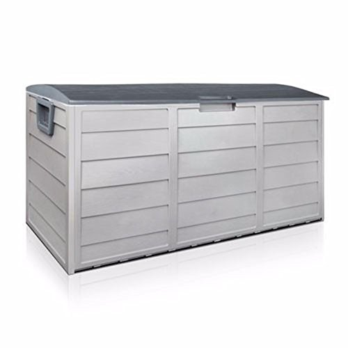 WShop Outdoor Patio Deck Box All Weather Large Storage Cabinet Container Organizer by Wichai Shop