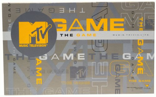 MTV the Game Trivia Lifestyle by Cardinal Industries