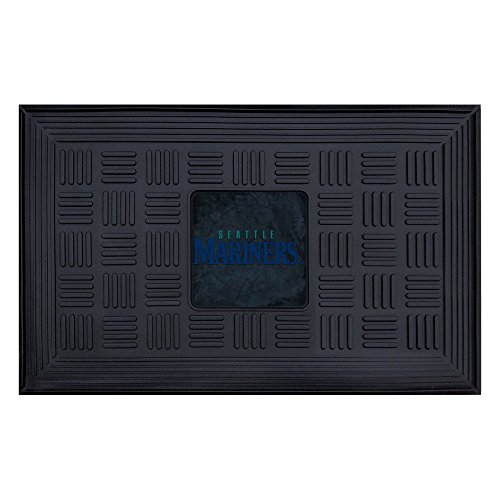Fanmats MLB Seattle Mariners Vinyl Door (Seattle Mariners Door Mat)