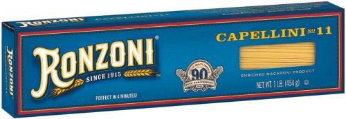 Ronzoni Capellini Pasta 16 oz