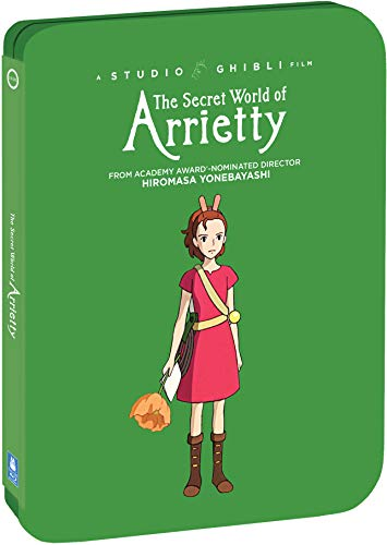 The Secret World of Arrietty - Limited Edition Steelbook [Blu ray + DVD] [Blu-ray]