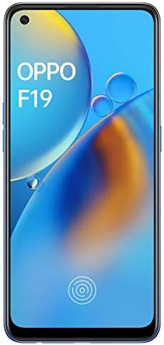Oppo F19 (Midnight Blue, 6GB RAM, 128GB Storage) with Free 12 Months Damage Protection