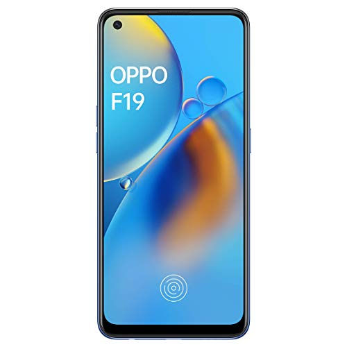 Oppo F19 (Midnight Blue, 6GB RAM, 128GB Storage) with No Cost EMI/Additional Exchange Offers