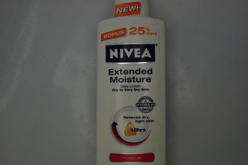 Nivea, Extended Moisture Daily Lotion Dry to Very Dry Skin ProVitamin B5