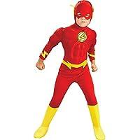 Rubies Masquerade Los Niños de Tamaño de Lujo del Vestuario Flash Medium (5-6