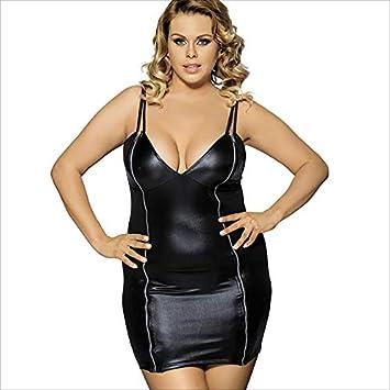 76812b82f352 LYLESS Faux Bretelles en Cuir pour Les Robes De Nuit Sexy De Grande Taille ,XXXL