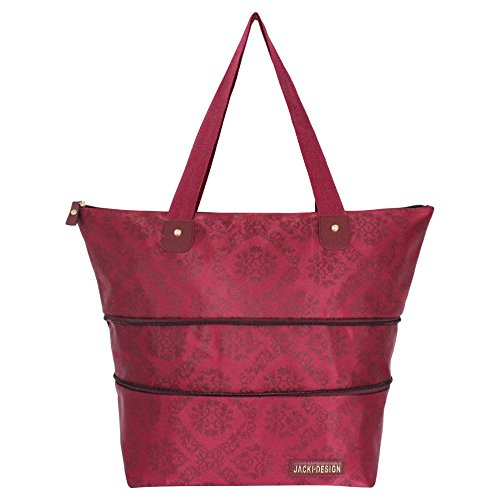 jacki-design-abc15087by-new-essential-expandable-tote-bag44-burgundy