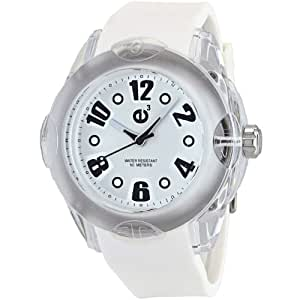Tendence Women's 2013053 Rainbow Hi-Tech Polycarbonate White Watch