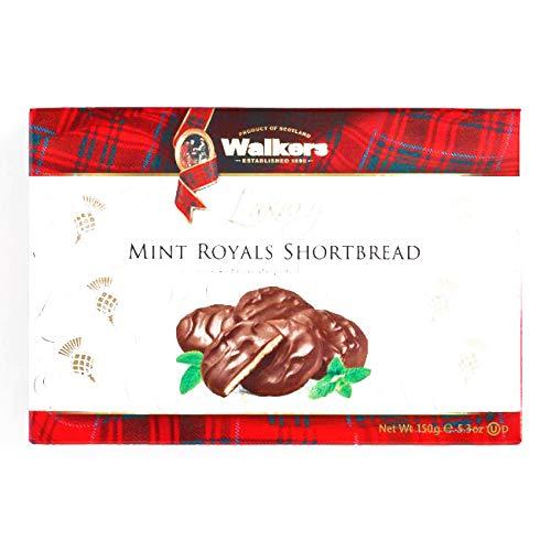 Walkers Mint Royals Shortbread 5.3 oz each (1 Item Per Order, not per case) -