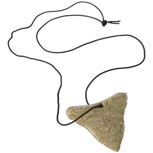 12 Shark Teeth - U.S. Toy JA256 Shark Tooth Necklaces