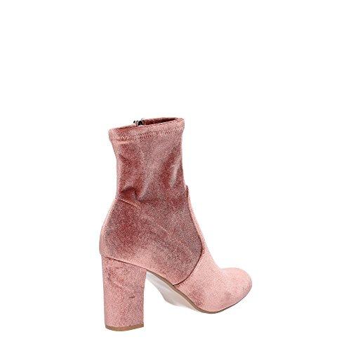 Steve Madden Avenue, Botines para Mujer Rosa (Blush Velvet)