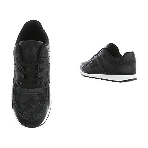 Nero design Ital design Donna Sneaker Nero Ital Ital design Nero Donna Sneaker Sneaker Ital Donna qzp8ZYw