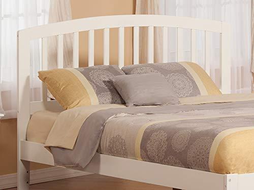 Atlantic Furniture AR288842 Richmond Headboard, Queen, White