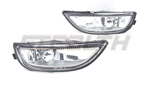 STEALTH STF0176-C 01 02 Toyota Corolla Fog Light OEM FIT Clear Lens