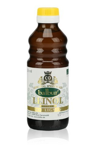 Leinöl aus dem Spreewald 500ml - kaltgepresst naturbelassen mit Omega-3-Fettsäuren